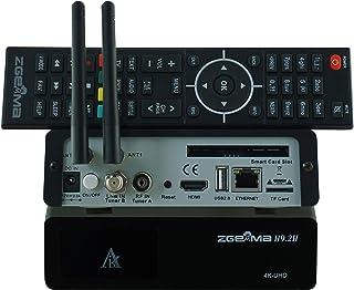 Decoder ZGemma H9.2H 4K Linux Doppio WiFi integrato CPU QuadCore 1.5Ghz Combo DVB-S2+DVB-T2/C