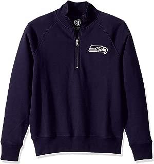 NFL Women's OTS Fleece 1/4-Zip Foil Pullover