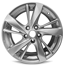 Road Ready Car Wheel For 2013-2015 Altima Nissan 17 Inch 5 Lug Gray Aluminum Rim Fits R17 Tire - Exact OEM Replacement - Full-Size Spare