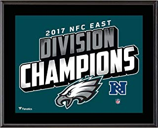 "Philadelphia Eagles 10.5"" x 13"" 2017 NFC East Champions Sublimated Plaque - NFL Team Plaques and Collages"