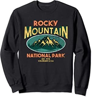 Rocky Mountain National Park Colorado Hiking Sweatshirt