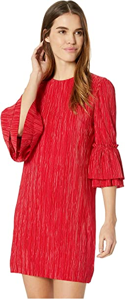 Pleated Sack Dress