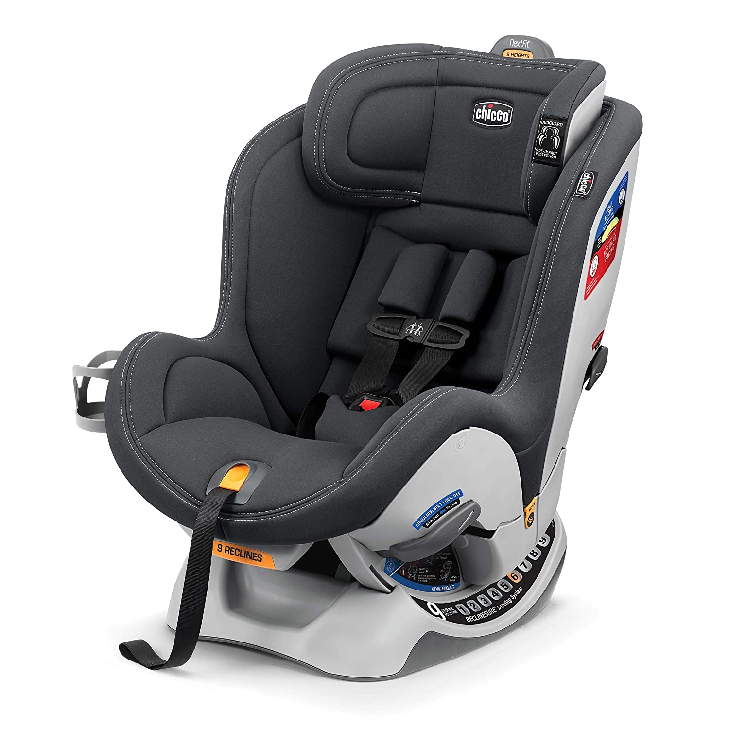 Chicco NextFit Sport Convertible Car Seat, Graphite