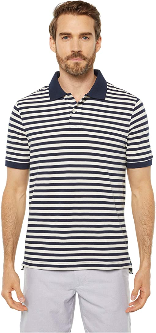 Navy/Ivory Nautical Stripe