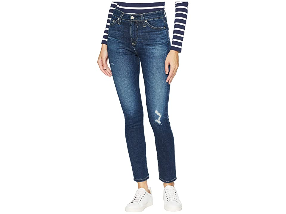 AG Adriano Goldschmied Sophia Ankle in 12 Years Verbiage (12 Years Verbiage) Women's Jeans, Blue