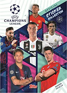 Trading Cards 1 Booster-Allemand Topps Ligue des Champions 2019//20