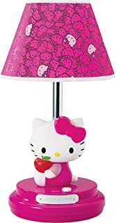Hello Kitty Table Lamp, Magenta