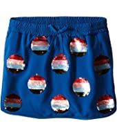 Little Marc Jacobs - Crepe Skirt All Over Sequined (Little Kids/Big Kids)