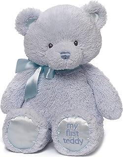 """Baby GUND My 1st Teddy Bear Stuffed Animal Plush, Baby Boy Blue 15"""""""