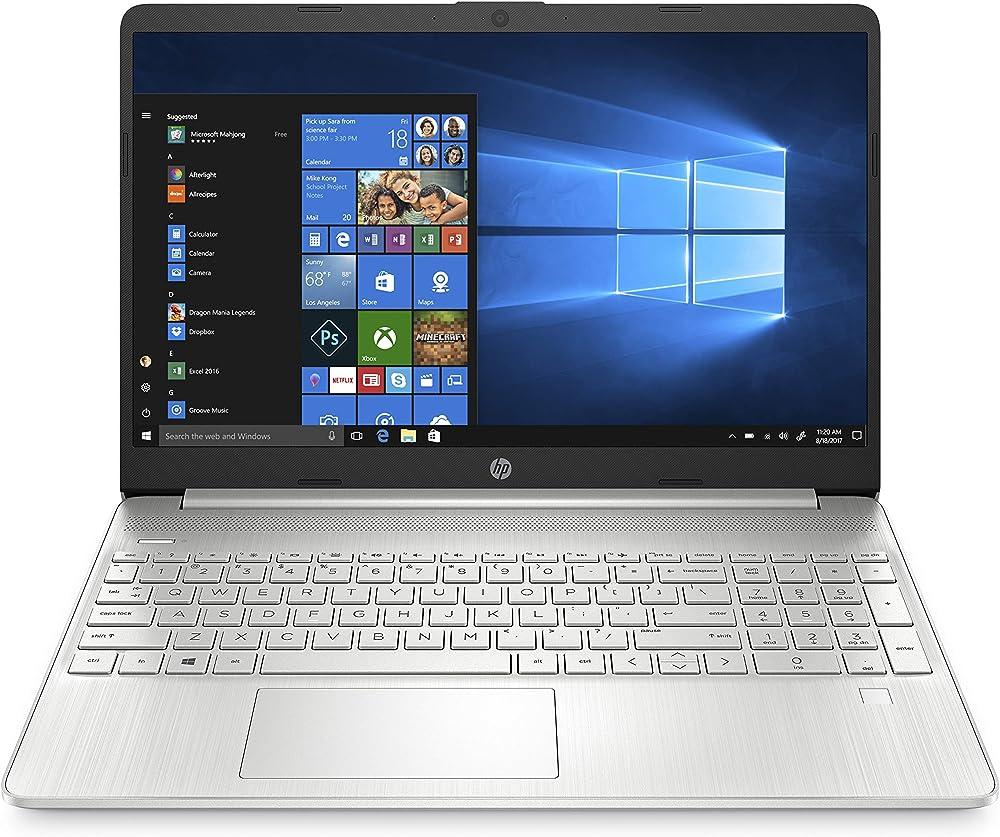 Hp - pc 15s-eq1001sl notebook, amd ryzen 7, ram 8 gb, ssd 512 gb, grafica amd radeon, display 15.6