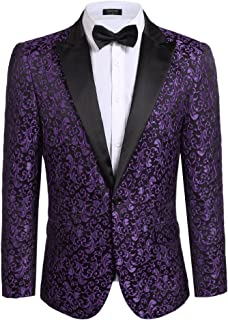 Best white and purple prom tuxedo Reviews