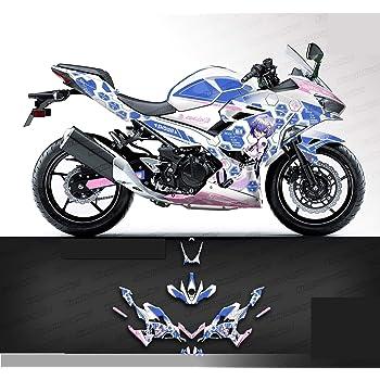Motorcycle Headlights Headlamp Sticker Decal For Kawasaki Ninja 400 2018 2019 20