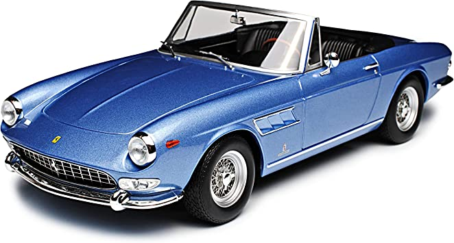 Kk Scale Ferrari 275 Gts 4 Pininfarina Spyder Cabrio Blue With Soft Top Roof 1964 1968 Limited Edition 500 Pieces 1 18 Model Car With Or Without Individual Choice Number Plate Amazon De Spielzeug