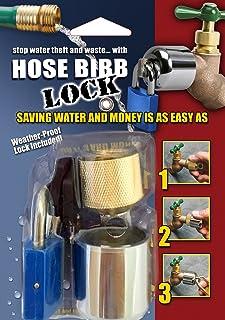 Conservco DSL-2 Hose Bib Lock with Padlock, Multi