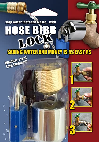 Conservco DSL 2 DSL 2 Hose Bib Lock With Padlock