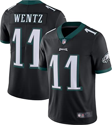 d740bdff934 Outerstuff Men's Philadelphia Eagles Carson Wentz Black Vapor Untouchable  Limited Player Jersey