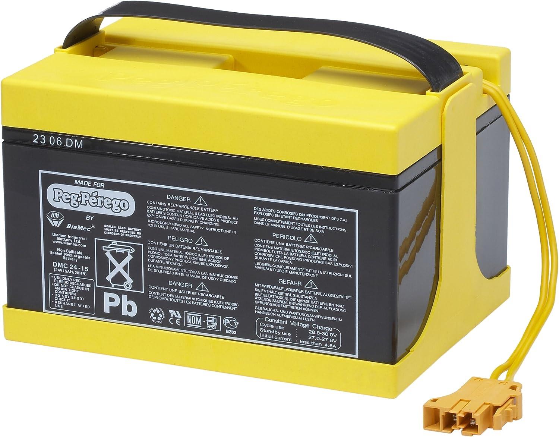 Peg Perego KB0018 - Batterie 24V 15Ah fr 24V Fahrzeuge