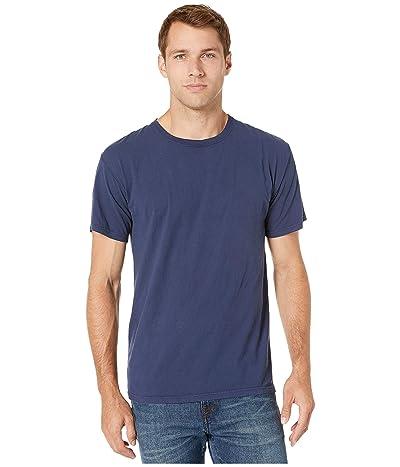 Hanes ComfortWashtm Garment Dyed Short Sleeve T-Shirt (Navy) Clothing