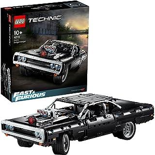 """LEGO Technic 42111 Dom's Dodge Charger, do budowy auta z silnikiem V8 z filmu """"Szybcy i wściekli""""(1077 elementów)"""