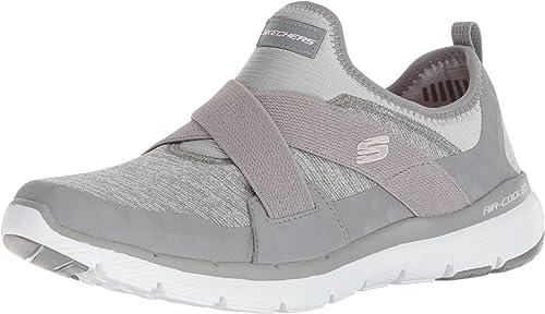 Skechers Flex Appeal 3.0-Finest Hour, Hauszapatos sin Cordones para mujer