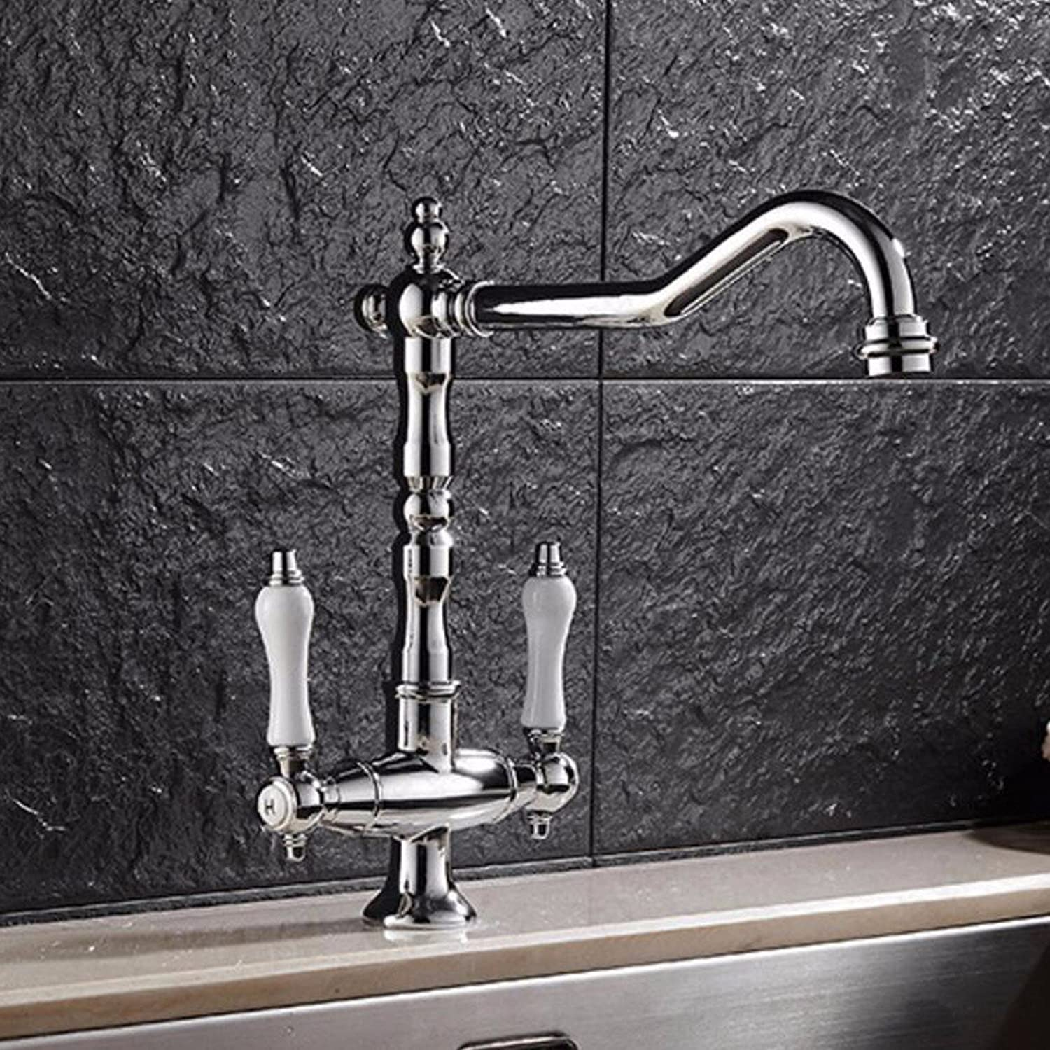 Kitchen faucet European Kitchen Swivel Faucet, Washing Basin Hot And Cold Water Faucet