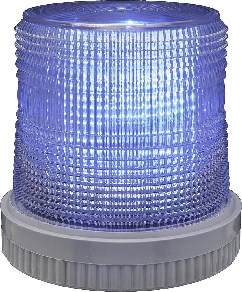 冷える豪華な部Edwards Signaling 105XBRMB24D XTRA-BRITE LED Multi-Mode Beacon, Heavy Duty, 24V DC, Blue by Edwards-Signaling