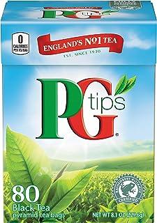 PG Tips Pyramid Bags, Premium Black Tea, 80 ct