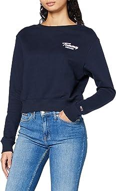 Tommy Jeans Tjw Back Rib Crew Sweater Femme