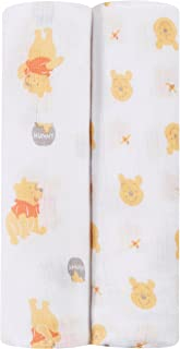 Ideal Baby by The Makers of Aden + Anais Disney Swaddle 2 Pack, Winnie
