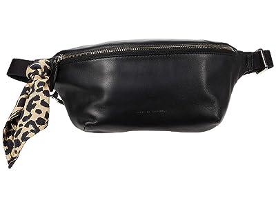Loeffler Randall Sophie Belt Bag (Black/Leopard) Handbags