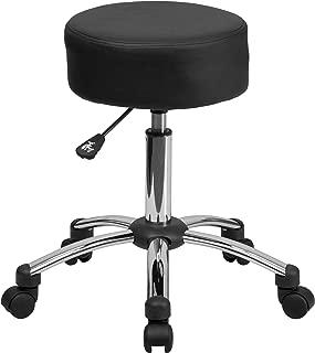 Flash Furniture Medical Ergonomic Stool with Chrome Base