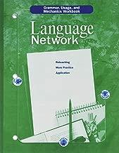 McDougal Littell Language Network: Grammar, Usage, and Mechanics Workbook Grade 08