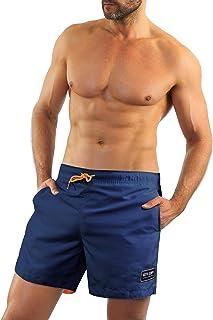Sesto Senso Men Swimming Shorts Trunks Beach Pants Swimwear Bathing Suit with Pockets Watershorts