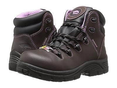 Avenger A7123 Composite Toe (Brown) Women