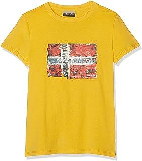 K Seitem Freesia Yellow Camiseta para Niños