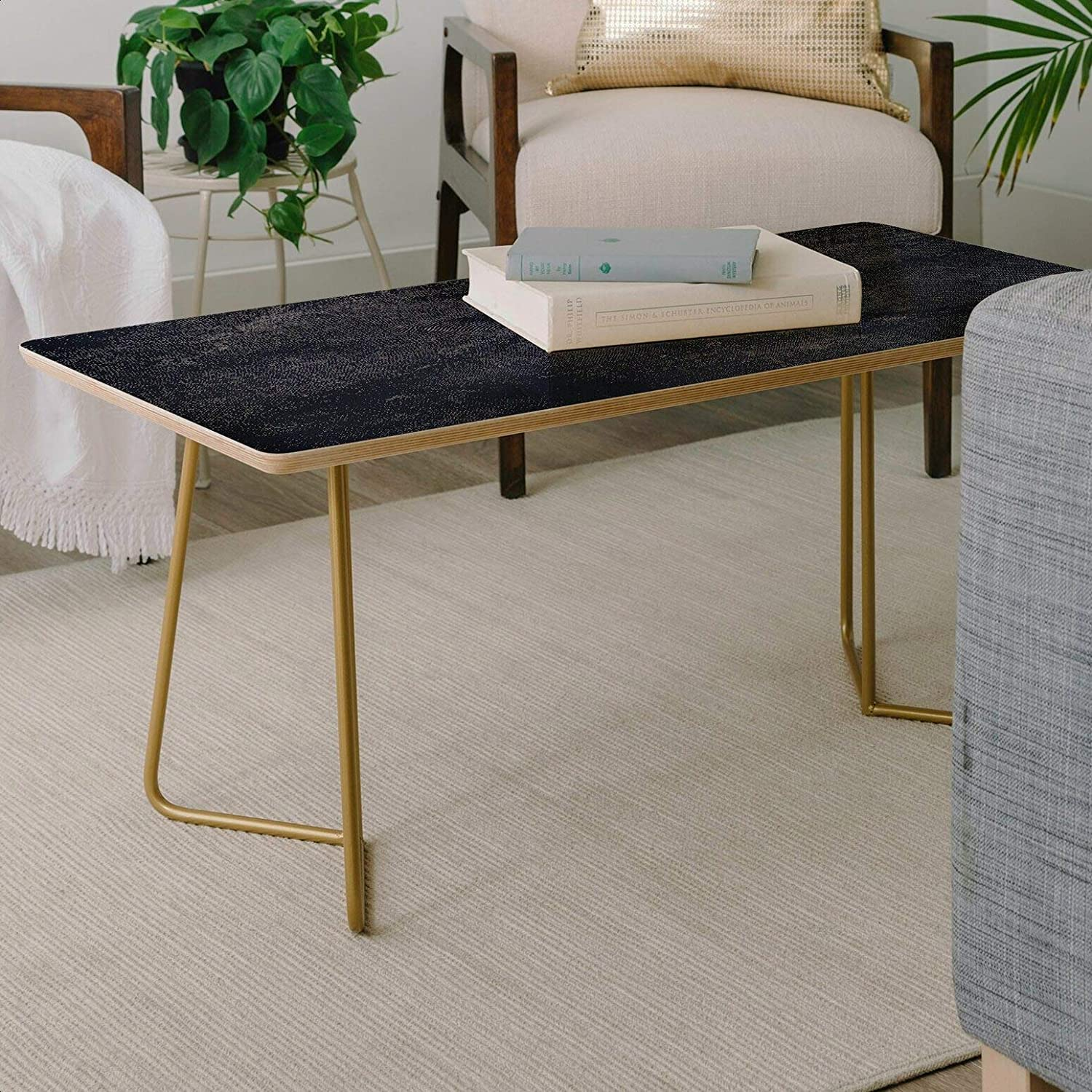 Jacksonville Mall Natalie Baca Translated Jean Baby Coffee Table C Base Top Material: Metal