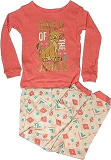 Lion King Pajamas 2-Piece Long Sleeve Nala Queen of The Jungle PJ Set for Toddler Girls