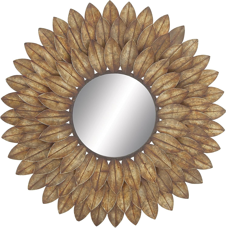 Deco 79 48509 Metal Wall Mirror, 30