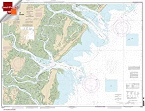 Paradise Cay Publications NOAA Chart 11511: Ossabaw and St. Catherines Sounds 21.00 x 27.46 (SMALL FORMAT WATERPROOF)