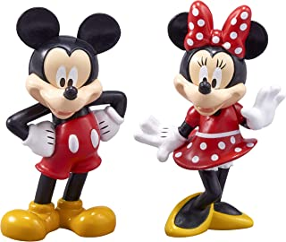 DecoPac Decorating Mickey Minnie Mouse Cake Topper for Birthdays and Special Occasions, One-Size, Mulitple