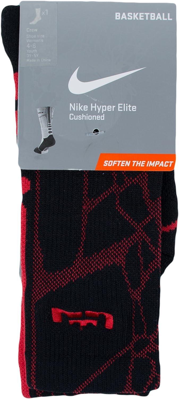 Nike Lebron Hyperelite Crew L 065 Mens Style   Sx4885 Black Red