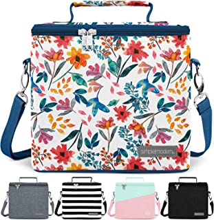 Simple Modern 4L Blakely Lunch Bag for Women & Men - Insulated Kids Lunch Box Pattern: Florista