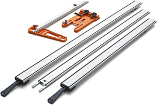Bora 5-Pc WTX Set 543510 - Includes 50 In. Clamp Edge, 50 In. Extension, 24 In. Clamp Edge, Saw Plate, Rip Handle