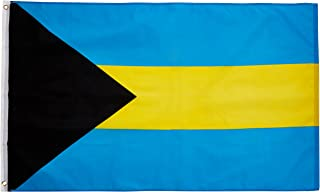Quality Standard Flags Bahamas Polyester Flag, 3 by 5'