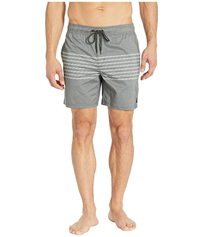 RVCA Eclectic Elastic Shorts (Black) Men