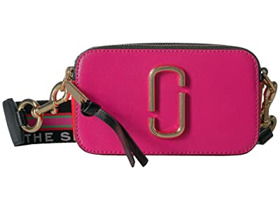 Marc Jacobs Snapshot (Diva Pink Multi) Handbags