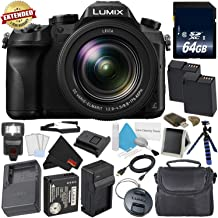 PANASONIC LUMIX DMC-FZ2500 4K Point and Shoot Camera w/20X Leica DC Vario-ELMARIT F2.8-4.5 Lens
