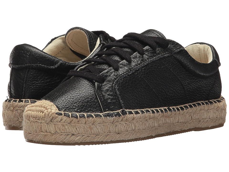 Soludos Platform Tennis Sneaker (Black) Women