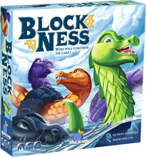 BlockNess Board Game - Family or Adult Strategy Game for 2 to 4 players. Recommended for ages 8 & Up