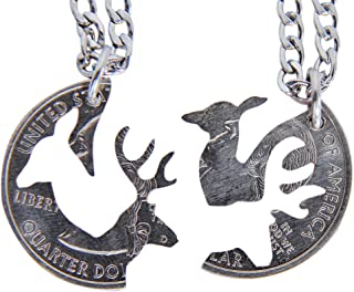 Best doe and buck necklace quarter Reviews